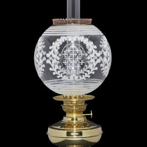 globe oil lamp shade
